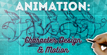 Animation Character Design & Motion