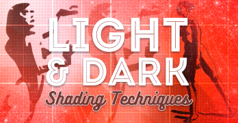 Light and Dark Shading Techniques