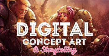 Digital Concept Art And Storytelling