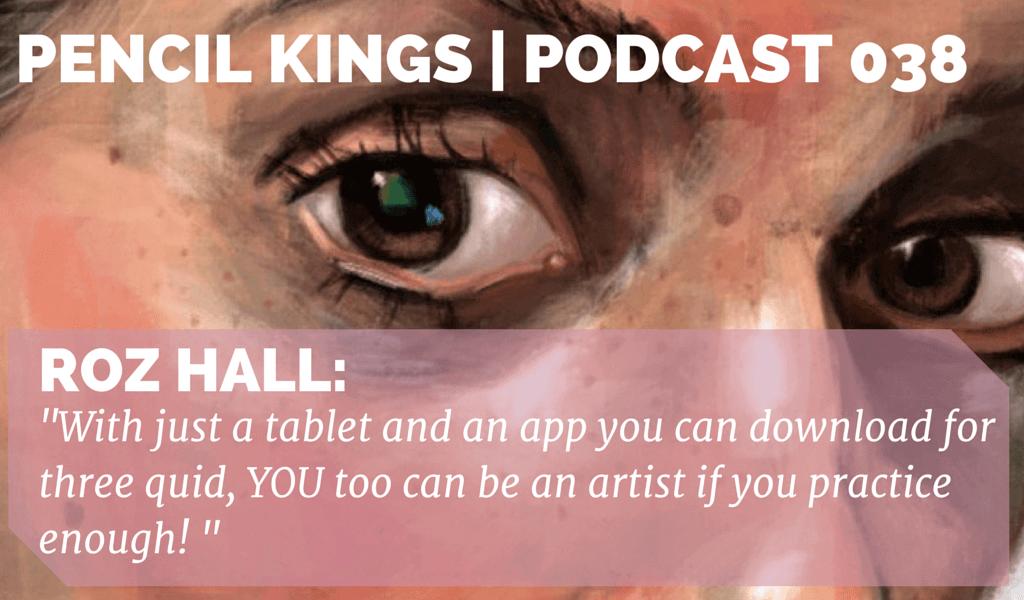 PK 038: Digital Artist Roz Hall Talks Tablets and Creativity 2 038 Roz Hall podcast