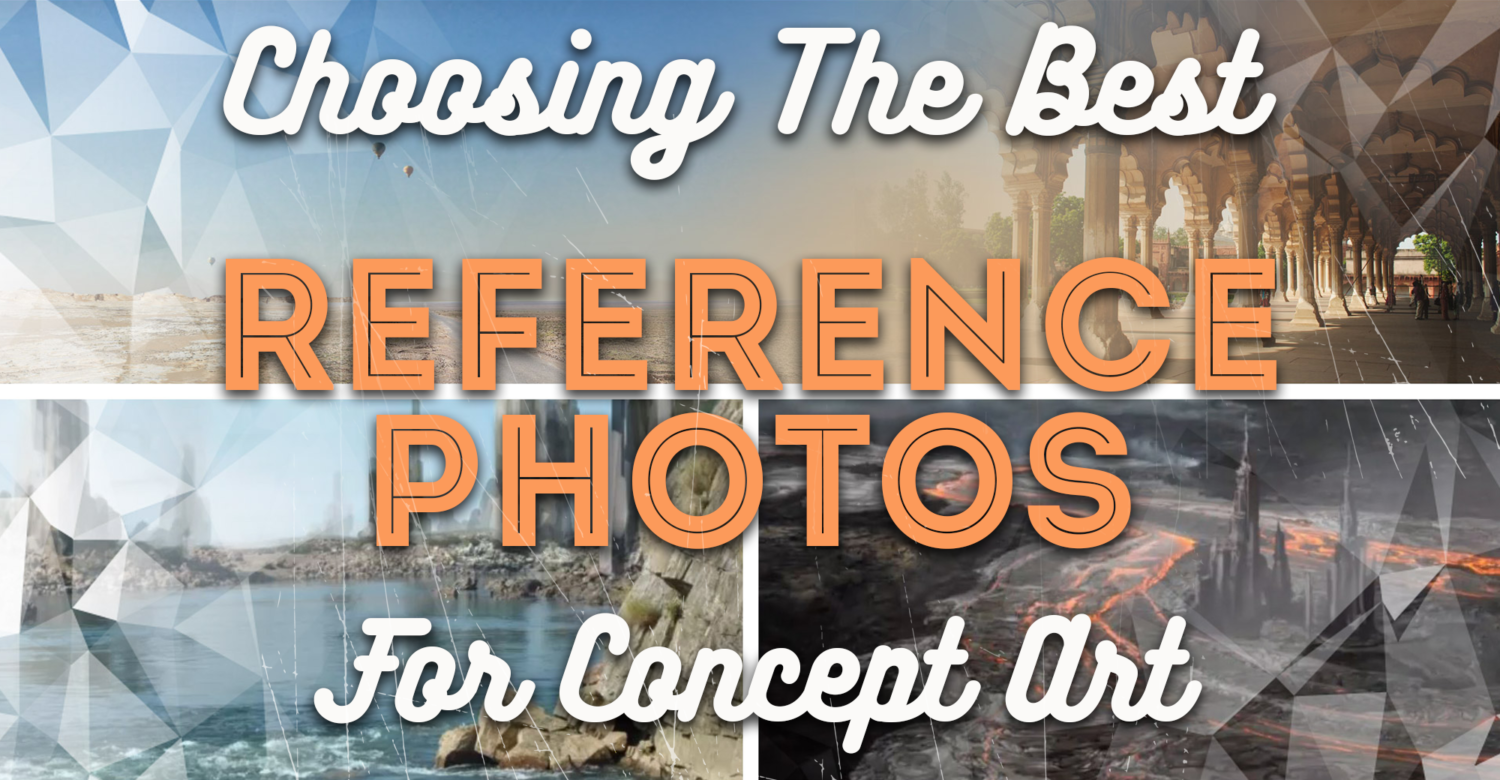 improve your concept art easily with reference photos