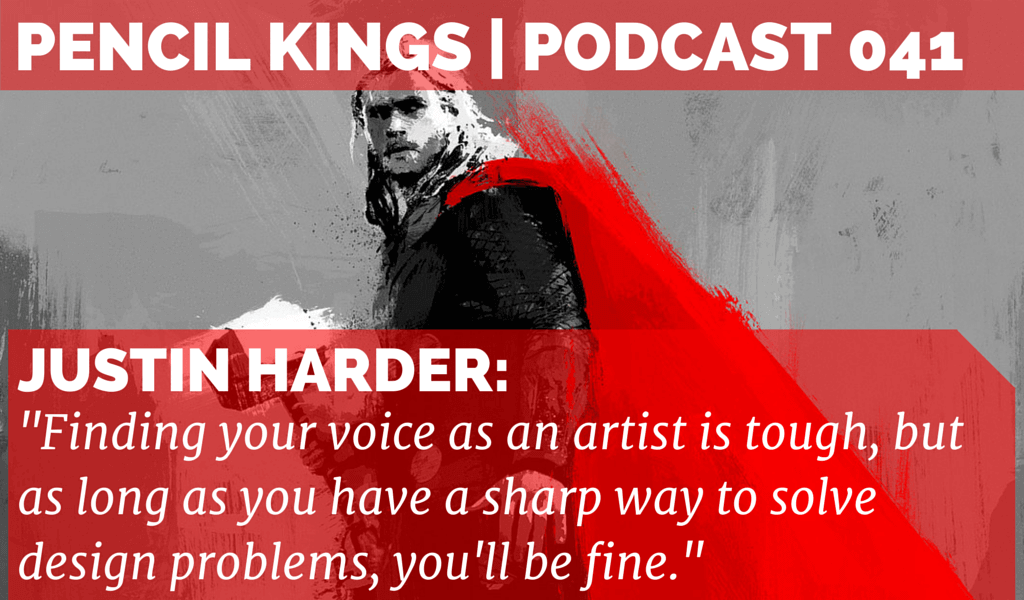 PK 041: Justin Harder from Claus Studios on How to Connect Your Art With Your Audience 2 041 Justin Harder Pencil Kings podcast 01