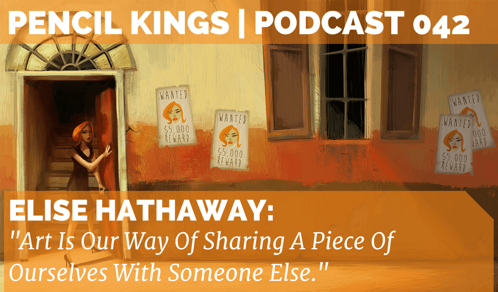 PK 042: Artist Elise Hathaway on Rejection and Determination 2 042 Elise Hathaway feat image