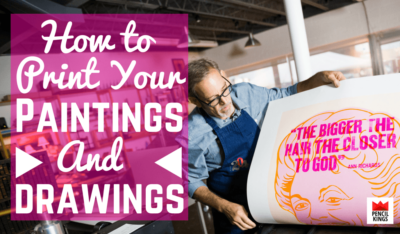 how to make prints of your art for a killer portfolio