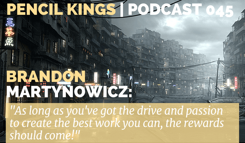 PK 045: Brandon Martynowicz on Art & Determination 2 045 Brandon Martynowicz podcast feat image
