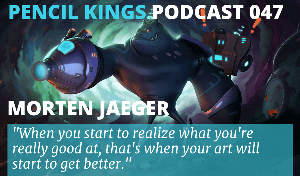 PK 047: 3D Artist Morten Jaeger on Finding His Own Unique Style 2 047 Morten Jaeger podcast feat image