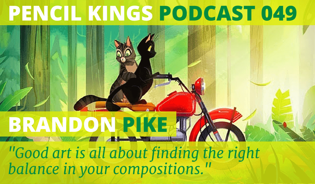 PK 049: Artist Brandon Pike on Style and Simplicity 2 049 Brandon Pike podcast feat image