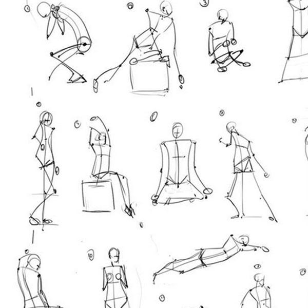 Figure Drawing Challenge Week 1