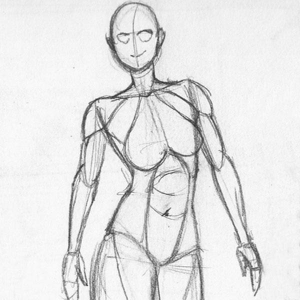 Figure Drawing Challenge Week 2