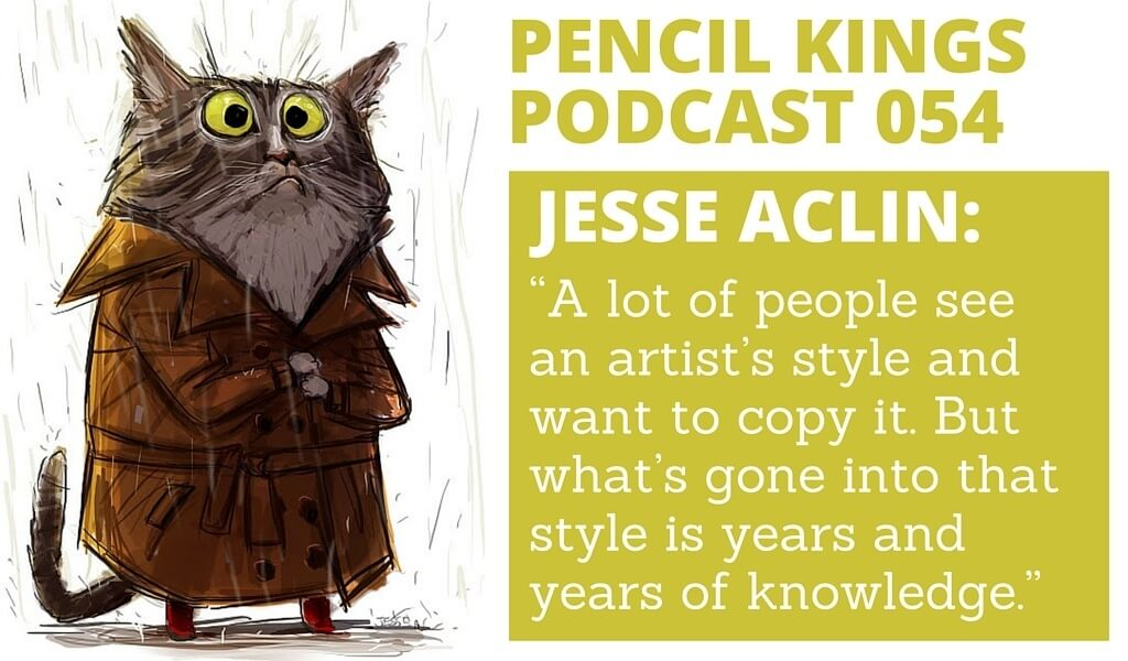 PK 054: Artist Jesse Aclin on How to Have Fun With Your Style 2 054 Jesse Aclin podcast feat image