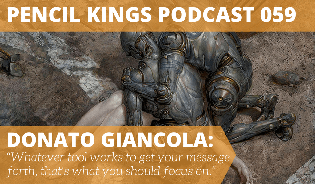 PK 059: Donato Giancola on Museums, Inspiration and Painting From Your Heart 8 059 PK059 Donato Giancola podcast feat image