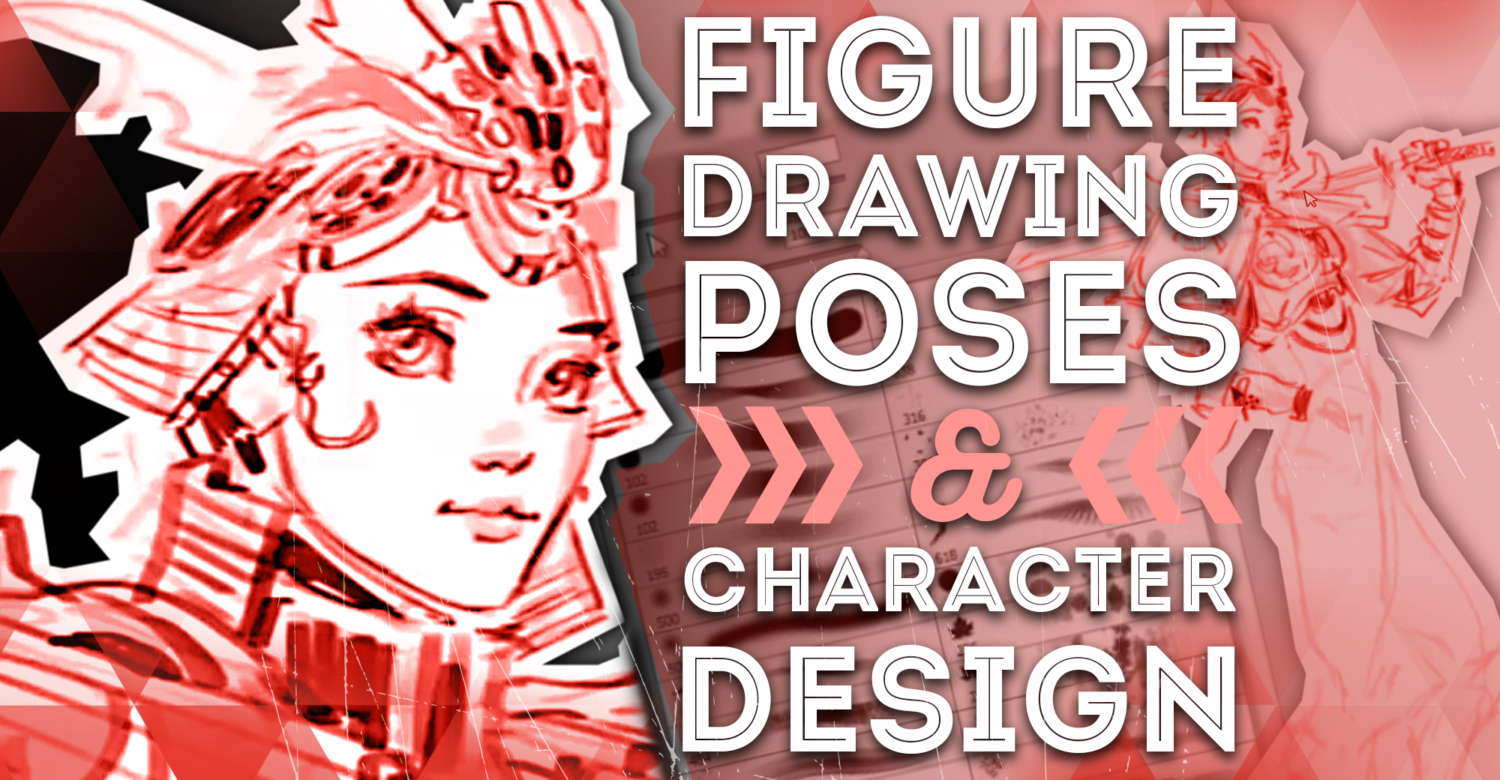 Learn figure drawing poses and character design the fun way!