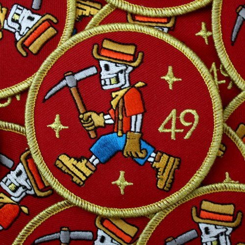 bagger 43 patch design