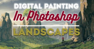Digital-Painting-in-Photoshop-Landscapes-featured-image
