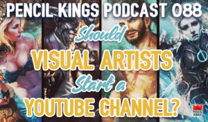 88-should-visual-artists-start-a-youtube-channel-pencil-kings-podcast 3 88 should visual artists start a youtube channel pencil kings podcast