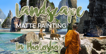 Landscape Matte Painting in Photoshop for Epic Results