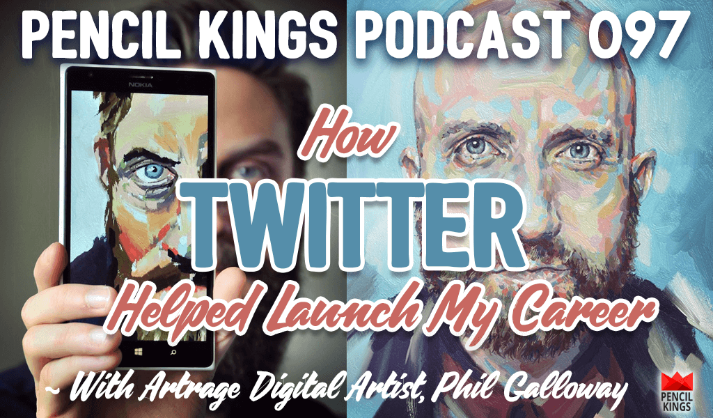 PK 097: ArtRage Artist Phil Galloway Reveals How Twitter Helped Launch His Career 2 pk 097 artrage artist phil galloway pencilkings