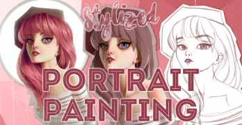 Stylized Portrait Painting in Photoshop