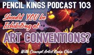 pk_103_exhibiting-at-art-conventions-pencil-kings-podcast-pk 1 pk 103 exhibiting at art conventions pencil kings podcast pk