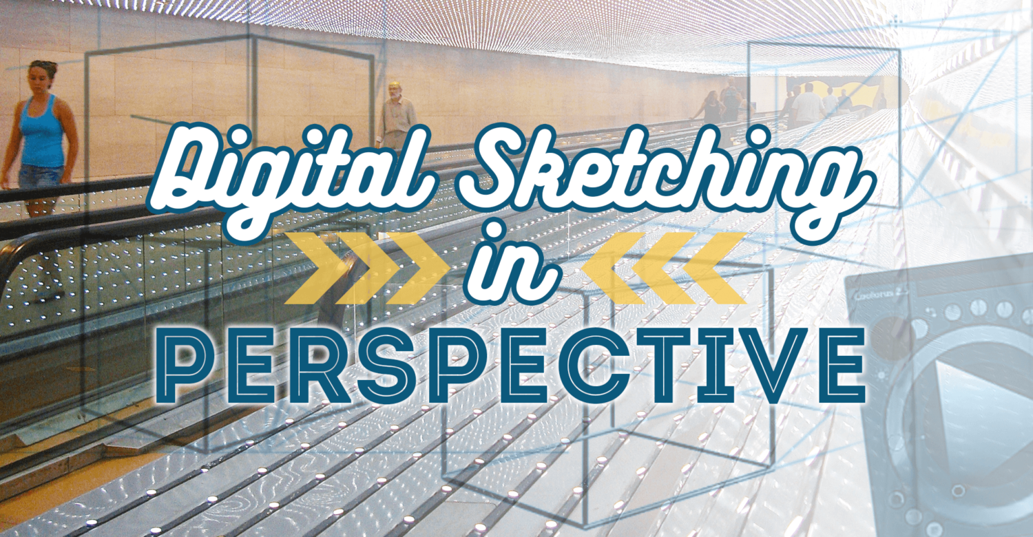 Digital Sketching in Perspective Pt1