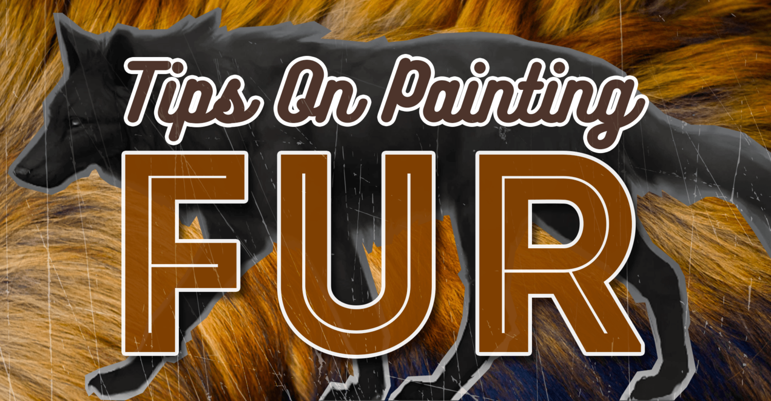 Tips on Painting Fur For Wildlife and Fantasy Artists