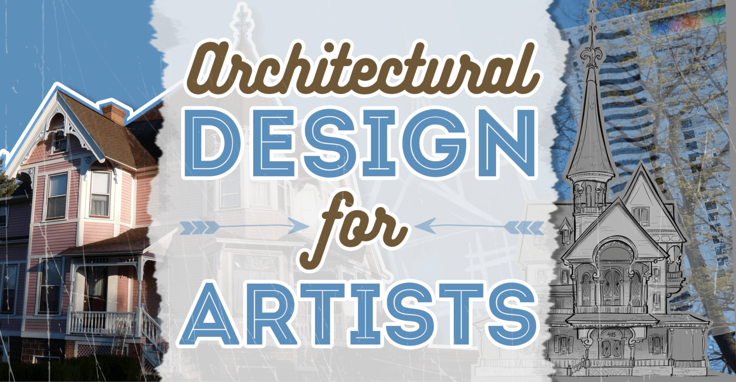 Architecture Design For Artists – Learn How to Draw Buildings For Concept or Traditional Art