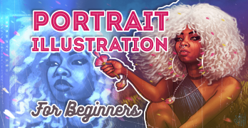 Portrait Illustration for Beginners – Create Stunning Portraits in Photoshop
