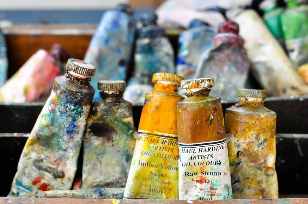 time management tools for artists paint tubes