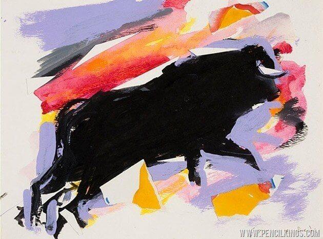 Elaine De Kooning bull