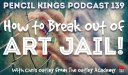 PK 139: How to Break Out of Art Jail – Interview With Chris Oatley from The Oatley Academy