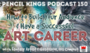 PK 150: How to Have a Successful Art Career And Build Your Audience. Interview With Fantasy Artist, Iris Compiet.