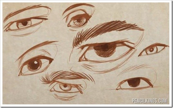 How To Draw The Eyelids Eyelashes And Eyebrow