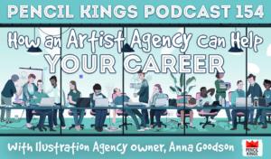 pk_154_artist-agency-pencil-kings-podcast 1 pk 154 artist agency pencil kings podcast