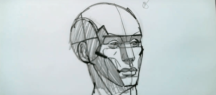 How to Draw the Planes of the Face 2 drawing the planes of the face
