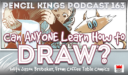 PK 163: Can ANYONE Learn How to Draw? Interview With Jason Brubaker from Coffee Table Comics