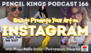PK 166: How to Promote Your Art on Instagram.  Interview With Mixed Media Artist and Illustrator, Donna Adi.