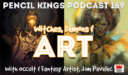 PK 169: Witches, Demons, and Art. Inside the Creative Mind of Occult and Fantasy Artist, Jim Pavelec.