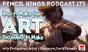 PK 173: How to Make the Art You Want to Make – Interview With Professional Artist and Illustrator, David Palumbo.