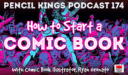 PK 174: How to Start a Comic Book – Interview With Comic Book Illustrator, Ryan Onorato.