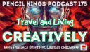PK 175: Travel and Living Creatively – Interview With Freelance Illustrator, Ladislas Chachignot.