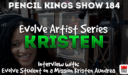 PK 184: Kristen Aundrea – From start to pro level art in 7 months  – what?!