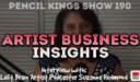 PK 190: Artist Business Insights with Suzanne Redmond of the Left Brain Artist Podcast
