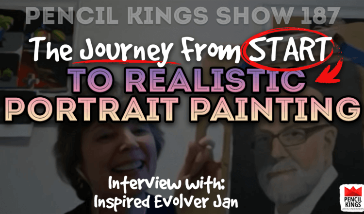 PK 187: Finding Bliss While Learning to Paint with Jan from Evolve 8 PK 187 learning to paint portraits 750x440 1