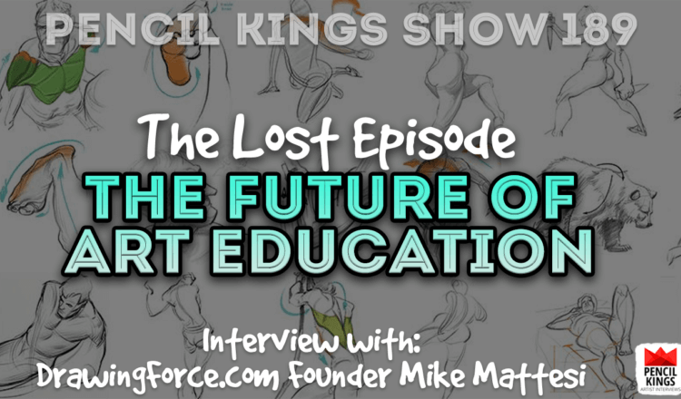 PK 189: The Future of Art Education with Mike Mattesi of DrawingForce.com 6 PK 189 Drawing Force 750x440 1