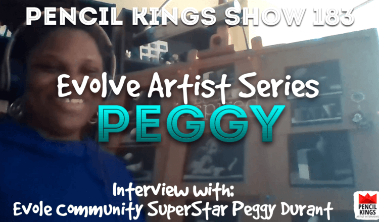 PK 183: Evolve Artist Community Review – Meet Evolve Community Superstar Peggy Durant 6 PK Podcast 183 Evolve Peggy Durant 750x440 1