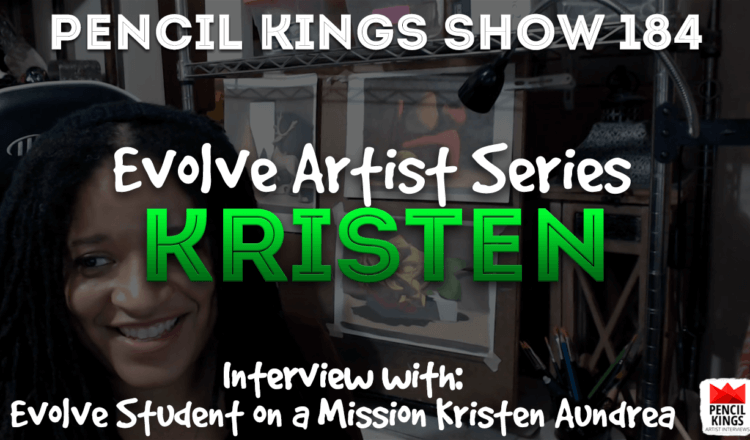PK 184: Kristen Aundrea – From start to pro level art in 7 months  – what?! 2 PK Podcast 184 Evolve Kristen Aundrea 750x440 1