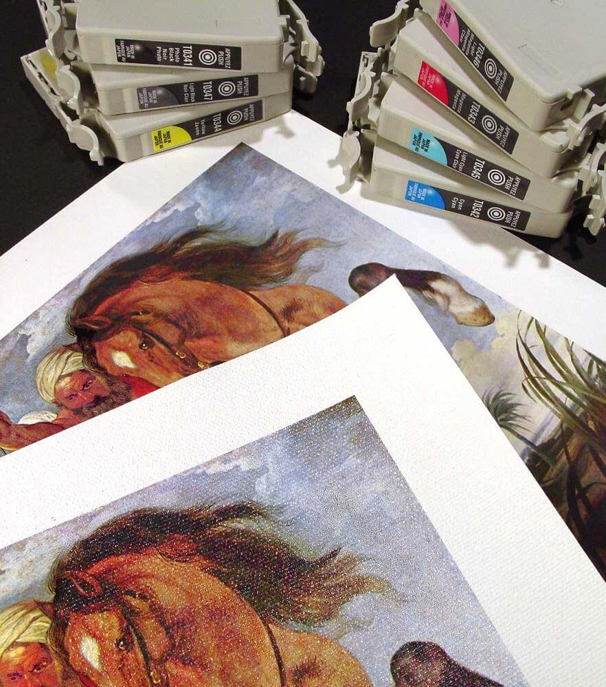 How to Make Prints of Your Art For Killer Portfolios and Exhibitions 9 Prints Pigment Giclee v1