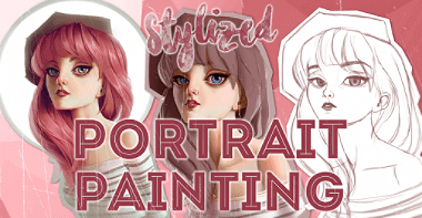 Courses 10 RC Stylized Portrait Painting featured image TH