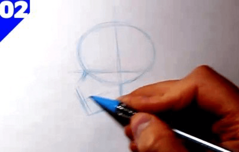 How to Draw the Skull 4 how to draw a skull 02
