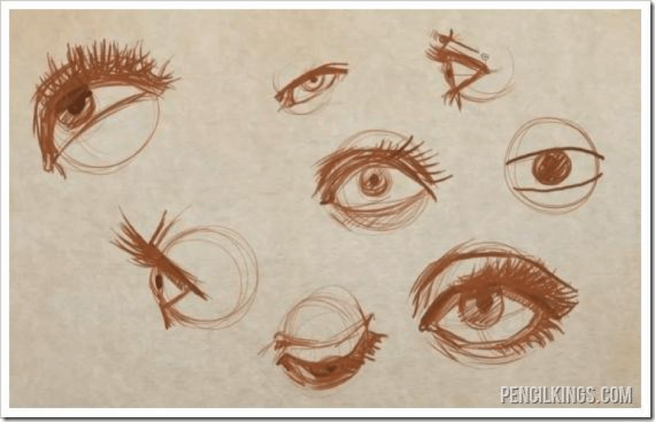 How to Draw an Eye And Create Perfect Eyelids and Eyelashes 2 how to draw eyelids 01